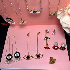 """Jewelry - ❤️ Bundle Of """"EYE"""" Jewelry ❤️"""